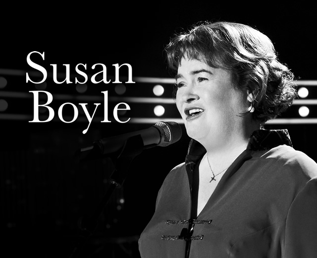Susan Boyle - Mobile website header